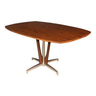Mid Century Chromcraft Vintage Dining Table For Sale