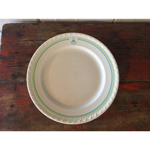 Restaurant Ware Plates with Castle - Set of 6 - Image 3 of 8