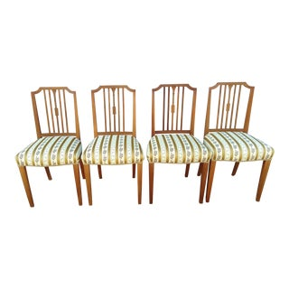 Mid Century Modern Chairs- Set of 4 For Sale