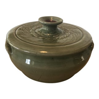 Studio Pottery Lidded Casserole Dish For Sale