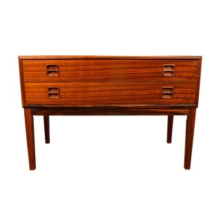 1960s Danish Modern Rosewood Entry Chest