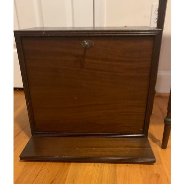 18th Century Victorian Generals Field Writing Desk For Sale In Philadelphia - Image 6 of 8