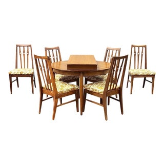 1950s Mid Century Dining Set - 7 Pieces For Sale