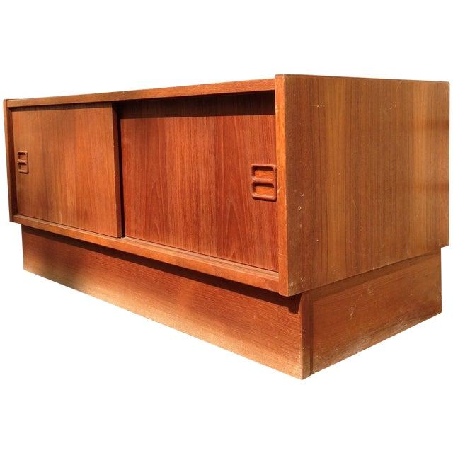 Danish Modern Teak Base Cabinet - Image 1 of 7