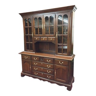 Pennsylvania House Cherry Dutch Cabinet For Sale