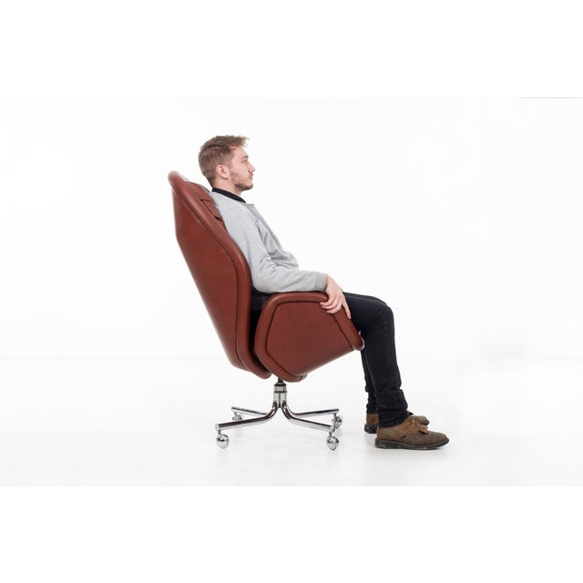 Metal DoMore Executive Desk Chair For Sale - Image 7 of 12