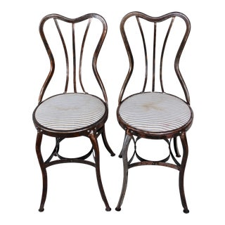 Vintage Toledo Industrial Chairs - A Pair