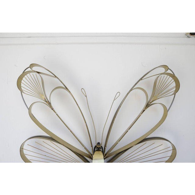 Curtis Jere Pair of Butterfly Sculptures by Curtis Jere For Sale - Image 4 of 5
