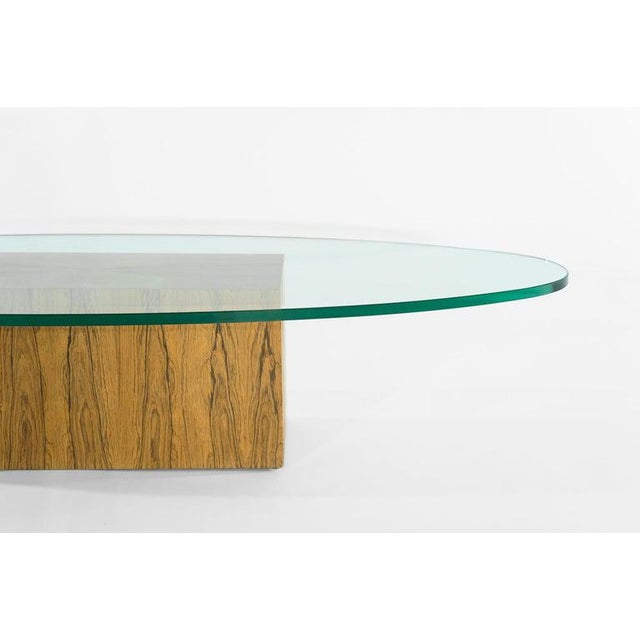Wood Rosewood Coffee Table by Harvey Probber, 1950s For Sale - Image 7 of 12