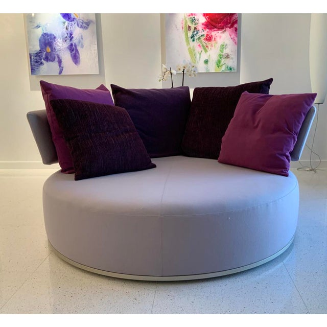 B & B Italia Antonio Citterio Amoenus Sofa For Sale In Miami - Image 6 of 6