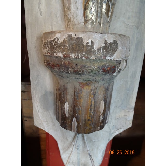 Pair Architectural Sconces For Sale - Image 4 of 9