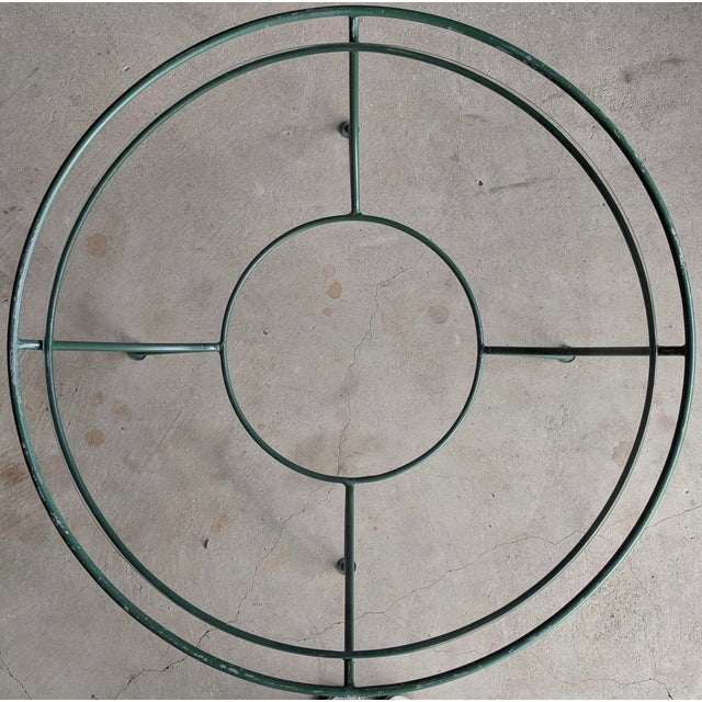 Hollywood Regency Midcentury Modern Maurizio Tempestini for Salterini Patio Table For Sale - Image 3 of 9