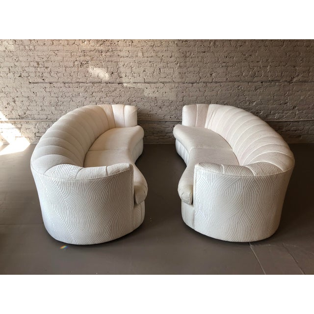 Impeccable sofas by Weiman. The original fabric is still in pristine condition.