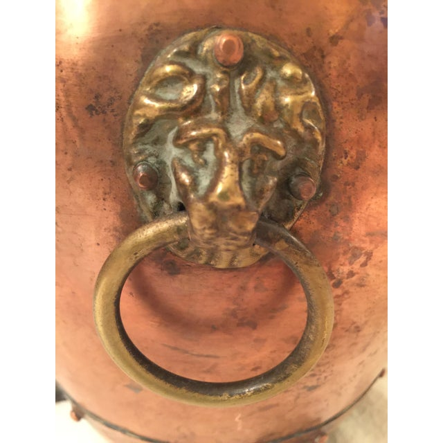 English Copper Cachepot - Image 5 of 8