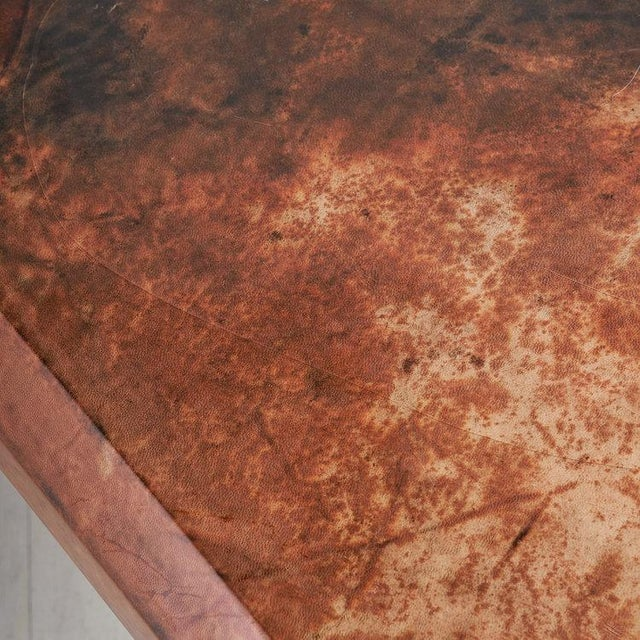 Karl Springer Lacquered Goat Skin Coffee Table For Sale - Image 4 of 8