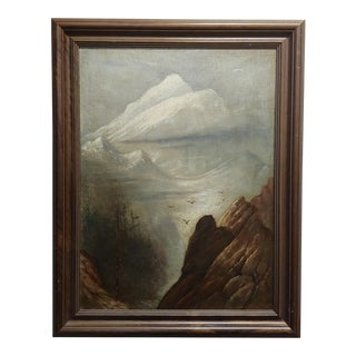Thomas Hill -Northern California Landscape - Oil Painting -C1900s For Sale