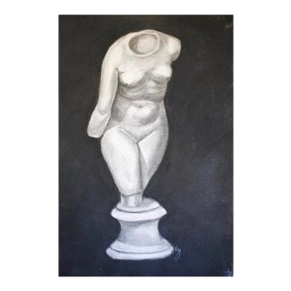 Neoclassical Charcoal Drawing