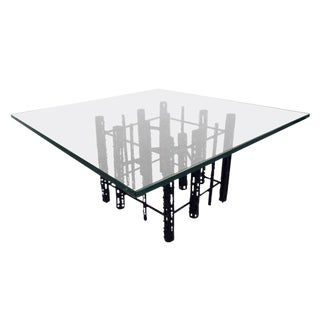 Mid-Century Modern Brutalist Coffee Table For Sale