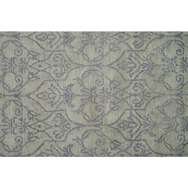 Stark Studio Rugs Stark Studio Rugs Contemporary Oriental Wool and Silk Rug - 10' X 14' For Sale - Image 4 of 5