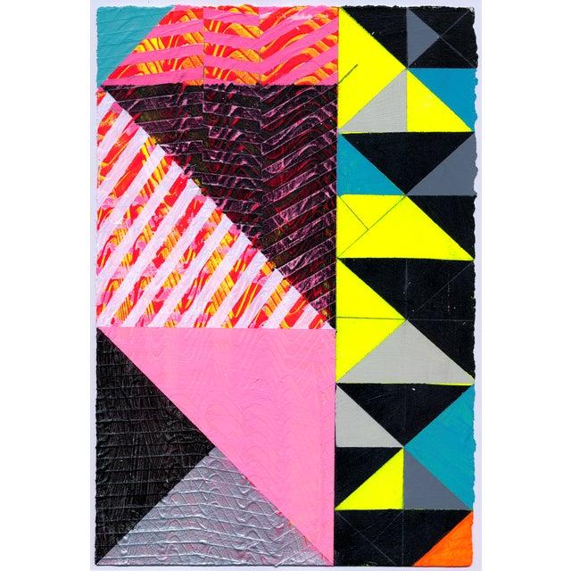 """Ny15 #19"" Original Geometric Painting - Image 1 of 4"