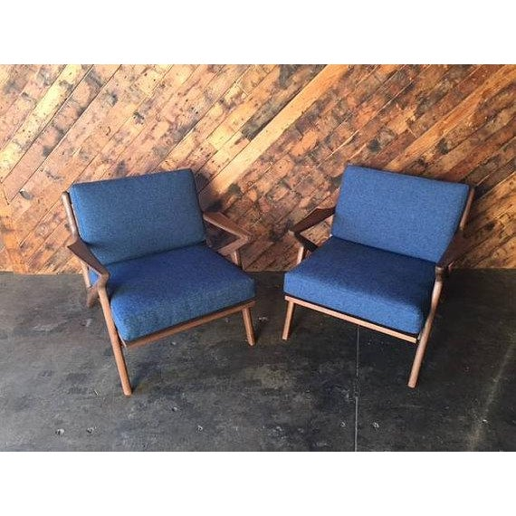 Mid Century Custom Selig Style Z Chair - Image 3 of 6