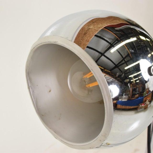 Chrome Mid Century Modern Chrome Floor Lamp by Robert Sonneman For Sale - Image 7 of 10