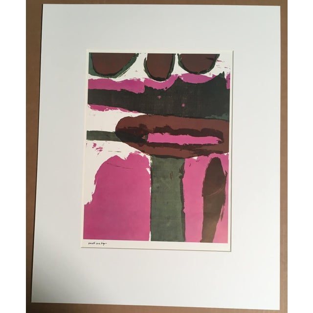 "1960s Abstract Print, ""Earth as a Sign"" by Sister Corita For Sale In Tampa - Image 6 of 6"