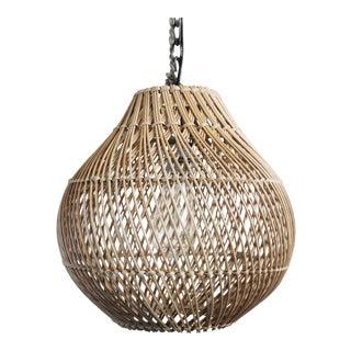 Natural Wicker Bawang Lantern Small