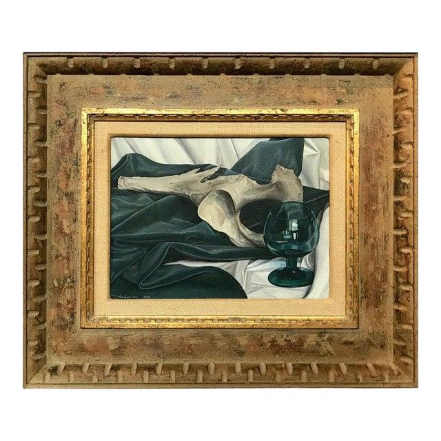 Luigi Lucioni Oil on Canvas Still Life For Sale