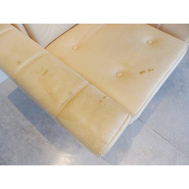 """1960s Sergio Rodrigues """"Navona"""" Club Chairs in Jacaranda and Leather - A Pair For Sale - Image 9 of 10"""