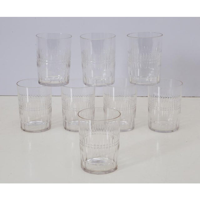 Gorgeous and elegant set of very fine barware drinking glasses, perfect size for a chilly evening's double old fashioned...