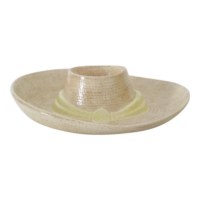 Sombrero Chip n' Dip Party Platter For Sale