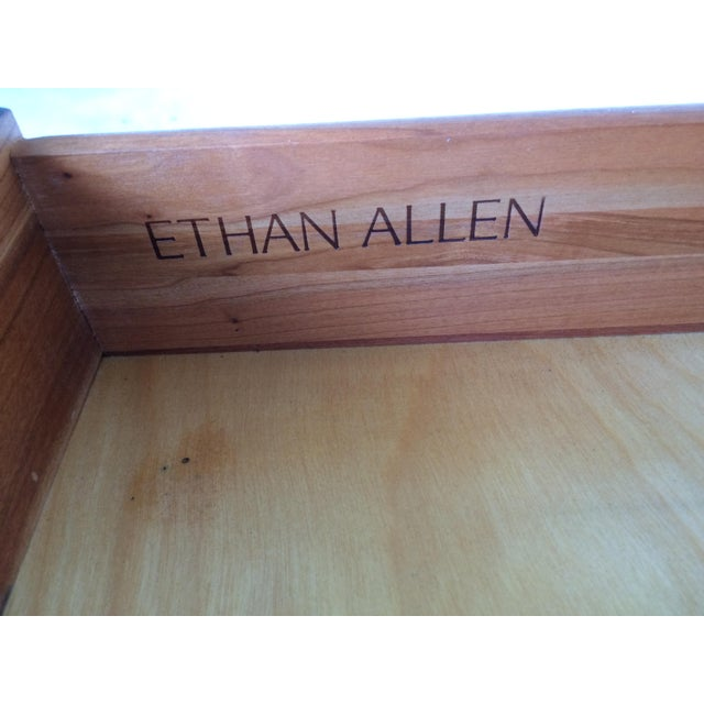 Ethan Allen Georgian Court Block Front Chest of Drawers For Sale - Image 11 of 11