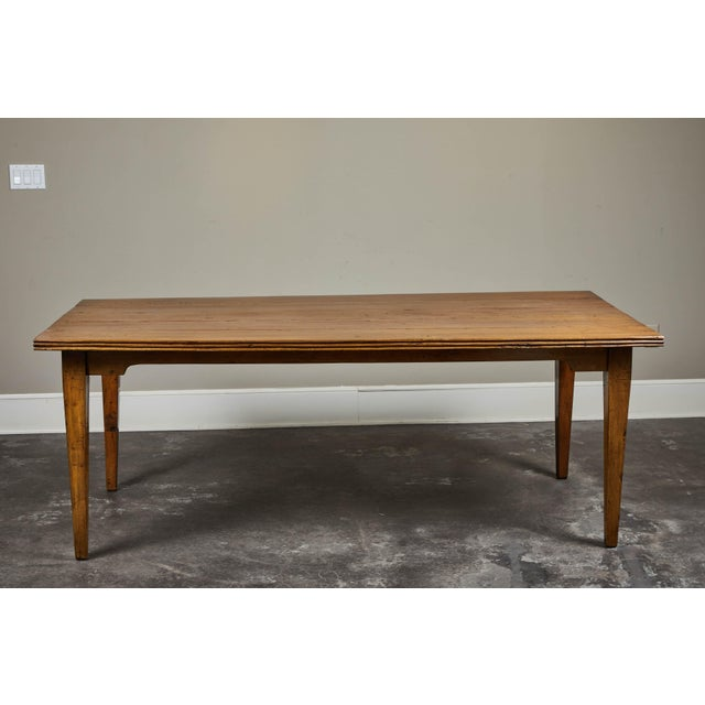 Mid 20th Century 20th C. Indonesian Teak Farm Table For Sale - Image 5 of 9