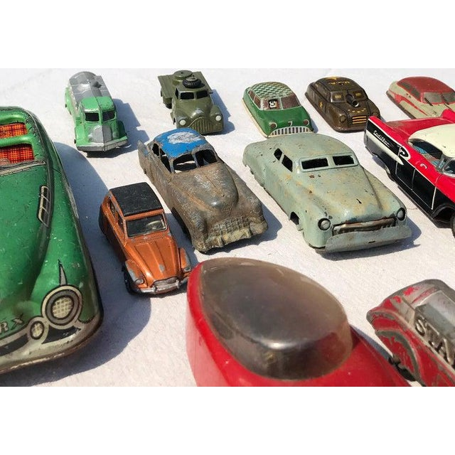 1950s 1950s Vintage Toy Cars - 28 Pieces For Sale - Image 5 of 12