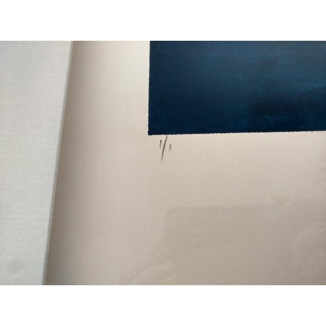 Kamy Deljou Abstract Mixed Media Monotype I - Image 2 of 8