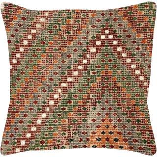 "Nalbandian - Turkish Cicim Pillow - 20"" X 20"" For Sale"