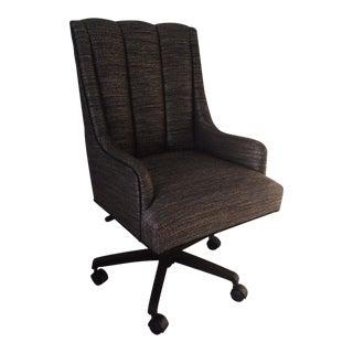 Custom Upholstered Desk Chair