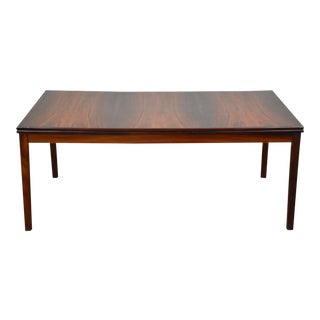 Rosewood Draw Leaf Dining Table For Sale