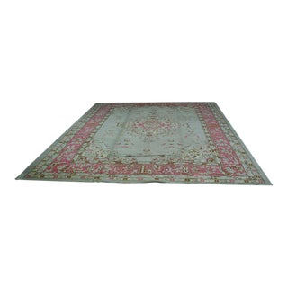 1920s Vintage Tabriz Style / Indian Rug - 11′ × 15′ For Sale