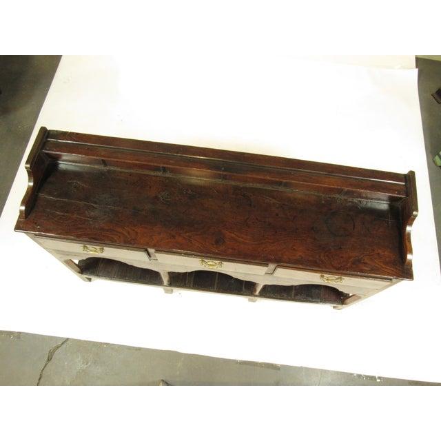 18th Century Vintage Welsh Elm Sideboard For Sale - Image 4 of 12