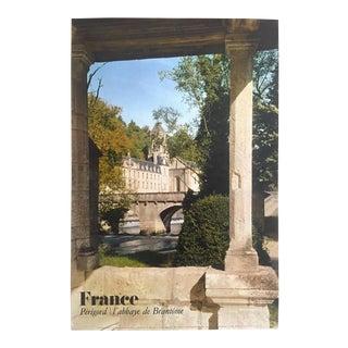 "Rare Vintage Mid Century "" Perigord / l'Abbaye De Brantome "" Collector's France Travel Poster For Sale"