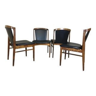 Set of 4 Erik Buch Rosewood Dining Chairs For Sale