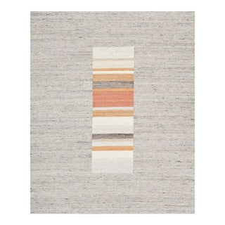 Schumacher Patterson Flynn Martin Montisi Hand-Woven Wool Geometric Rug - 6'6'' X 8' For Sale