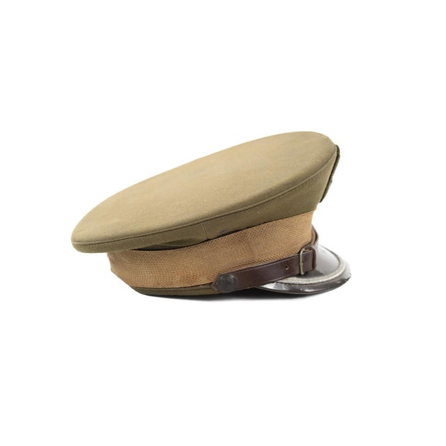 Vintage Polish 3 Stars Military Officer Hat - Image 7 of 9