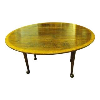 18th Century Oak Dining Table