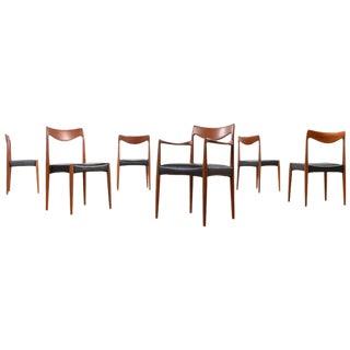 Gustav Bahus Bambi Teak Dining Chairs - Set of 6 For Sale