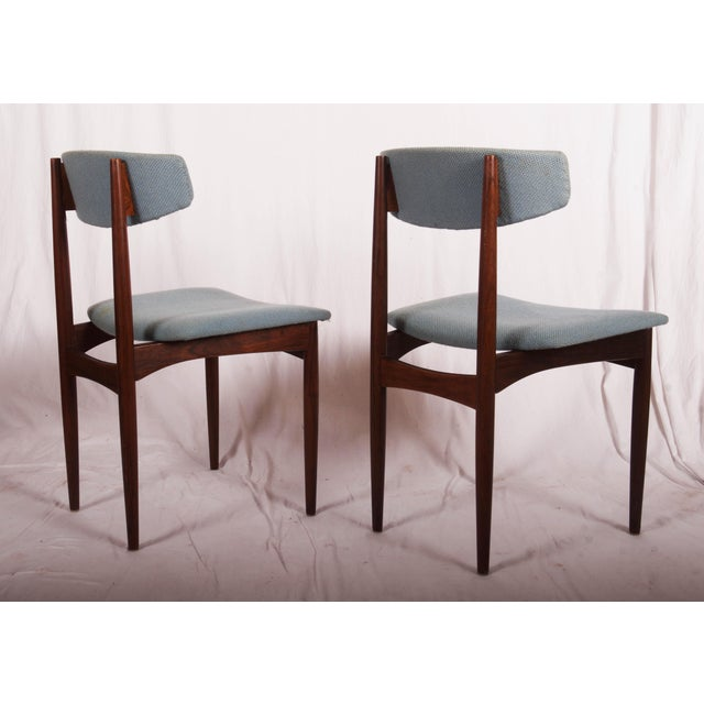 1960s Midcentury Danish Dining Chairs For Sale - Image 5 of 9
