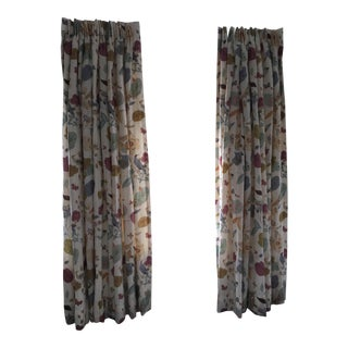 Vervain Padgett Orchid Drapes - Set of 4 Panels For Sale