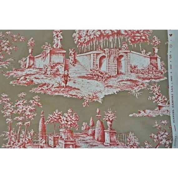 Manuel Canovas Jouvence Cotton Fabric - 4 Yards - Image 3 of 4